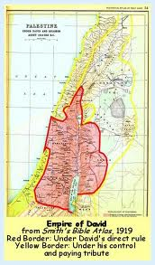 This is the concept of Israel on both sides of the Jordan river, East bank as well as West bank.  This insane claim is based upon what the map looked like thousands of years ago