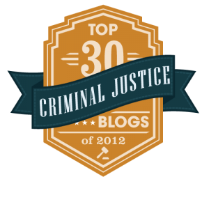 2012 Top Criminal Justice Blogs