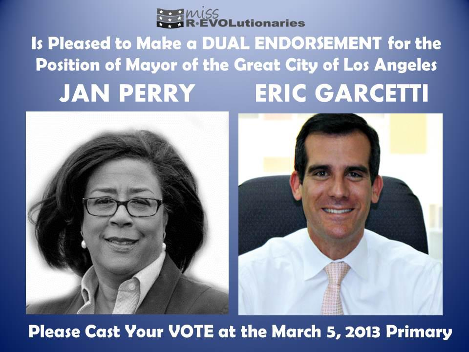 Miss Revolutionaries Perry-Garcetti