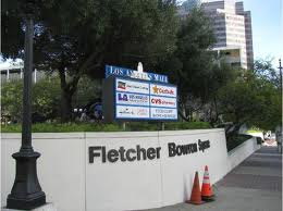 Fletcher Bowron Square: Mayor Fletcher Bowron during World War II wanted our servicemen to continue behaving like the Wehrmacht was treating Jews and Gypsies in Europe. Why not just rename the Square for Adolf Hitler and be honest about L.A.'s blind eye towards historical racism?