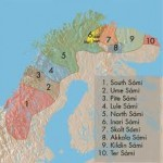 Sami Language region of Norway