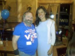 Cindy Montanez & Jan B. Tucker @ Rep. Brad Sherman's November 2012 victory re-election party
