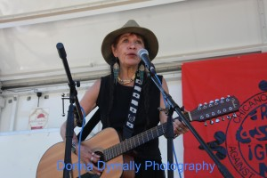 Native American/feminist singer-songwriter Relf Alison Star reminded many of Buffie Sainte Marie