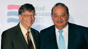 Bill Gates & Carlos Slim Helu