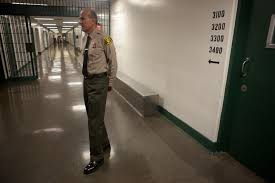 Soon to be ex-Sheriff Lee Baca at L.A. County Jail