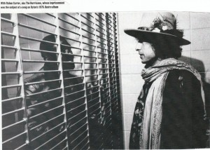 Bob Dylan meets Rubin Carter in prison