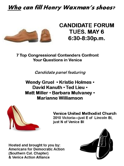 Dr O's Candidate Forum