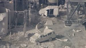 Exxon Mobil Torrance following explosion and fire