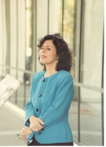 "Photo I took of Barbara Boxer during her 1992 campaign for U.S. Senate in front of the Van Nuys Federal Bldg at SFV/NELA NOW's ""Rally in the Valley"" for Roe v Wade Day"