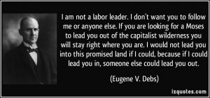 Doesn't this sound strikingly similar to Bernie Sanders' message?