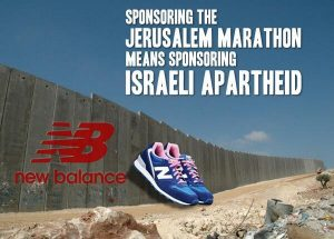 """Already facing a boycott because of its violation of the Boycott Divest Sanction (BDS) movement against Israel's occupation of Palestine,  New Balance's Vice President of communications said that the company looked forward to working with President-Elect Trump — and a Neo-Nazi blogger called the shoes """"the official shoes of white people"""""""